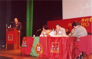 O Tesoureiro Geral apresentou o Relatório de Contas de 2001 e o Orçamento para 2002 (o homem estava feliz por regressar à sua Cidade)