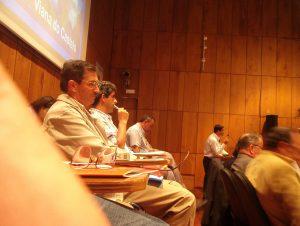 O Secretário Geral apresentou o Relatório de Actividades de 2004
