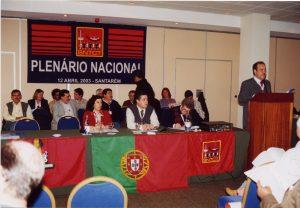 O Tesoureiro Geral apresentou as Contas de 2002 e o Orçamento para 2003...