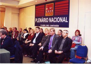 Os Sindicalistas Europeus foram convidados para a abertura do Plenário...