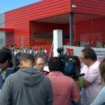Greve dos carteiros em Leiria