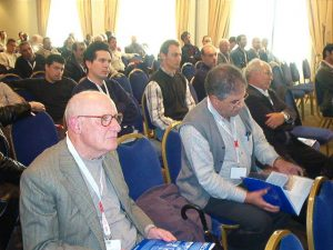 Jaime Silva e Armando Martins da Comissão de Aposentados muito atentos ao desenrolar dos trabalhos...
