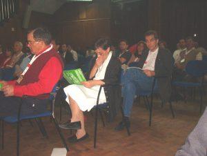 Figura incontornável do SNTCT, a Isabel Figueiredo seguia atentamente o desenrolar dos trabalhos