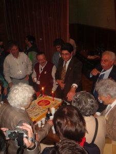 alegria com que Vitória Pinheiro apagou as velas do bolo dos 30 Anos do SNTCT contagiou a todos os presentes...