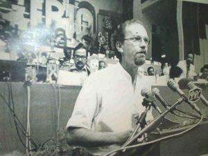 Secretário Geral do SNTCT - Jorge Martins